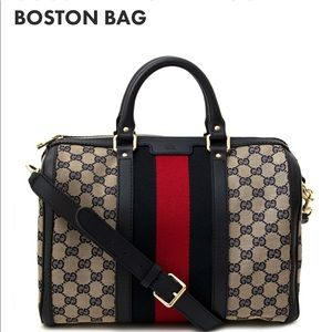 e616a07687ef LOOKING FOR vintage web GG boston bag in layaway